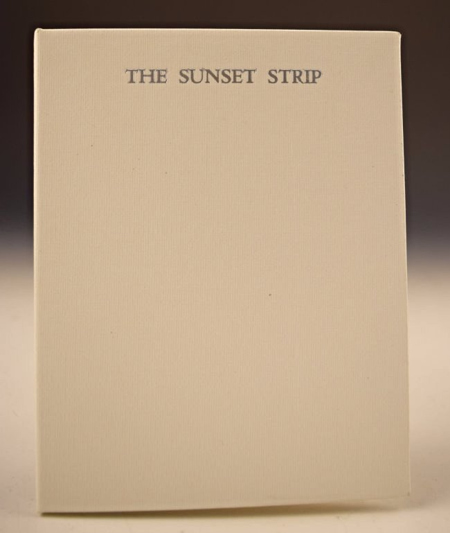 Ed Ruscha, Every Building On The Sunset Strip