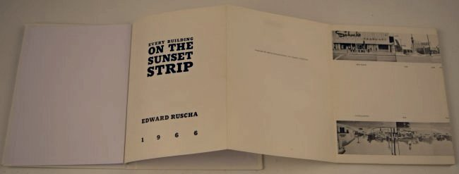 Ed Ruscha, Every Building On The Sunset Strip - 2
