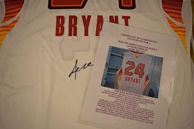 Kobe Bryant Signed Jersey - 3