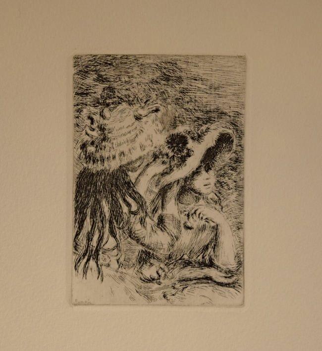 Pierre Auguste Renoir Etching - 2
