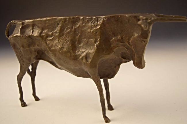 After Pablo Picasso Bronze Bull