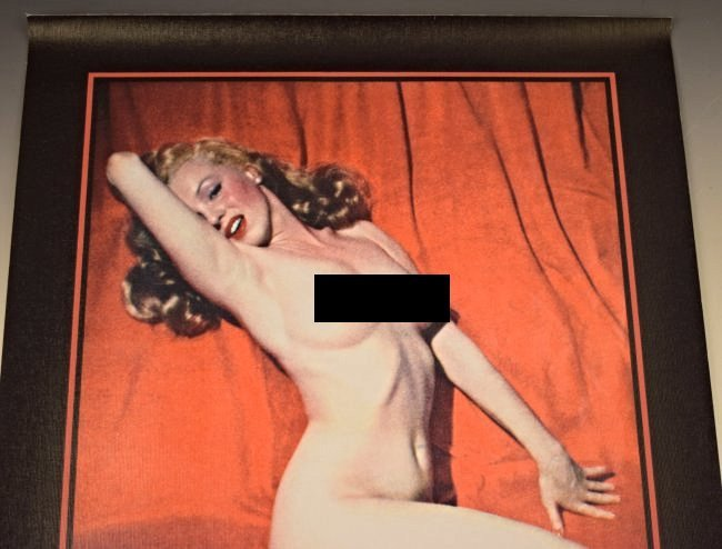 Marilyn Monroe Pin Up Canvas Poster - 2