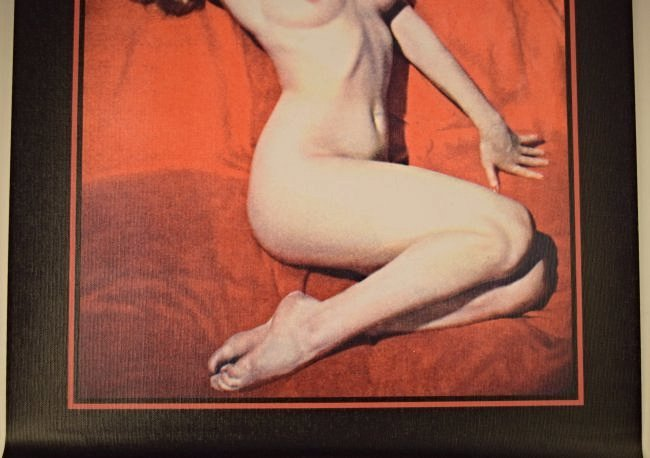 Marilyn Monroe Pin Up Canvas Poster - 3
