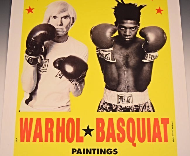 Andy Warhol, Jean Basquiat Gallery Poster - 3