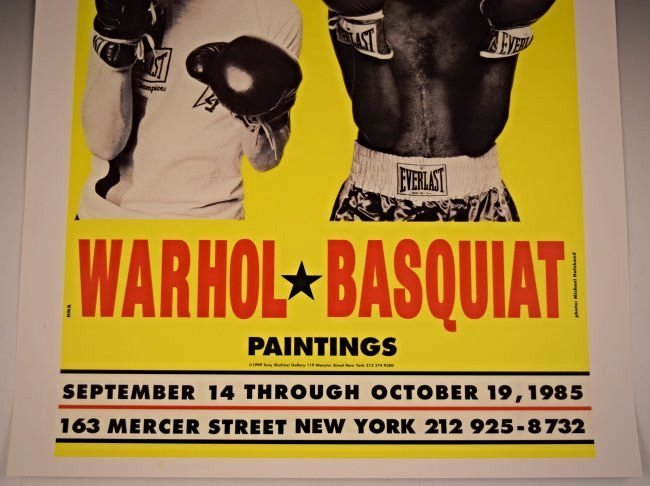 Andy Warhol, Jean Basquiat Gallery Poster - 4