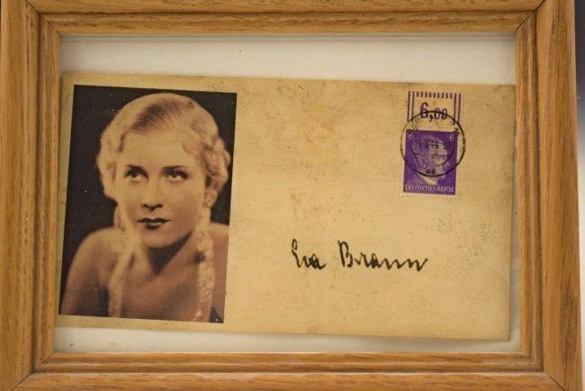 Eva Braun Signed Envelope - 2