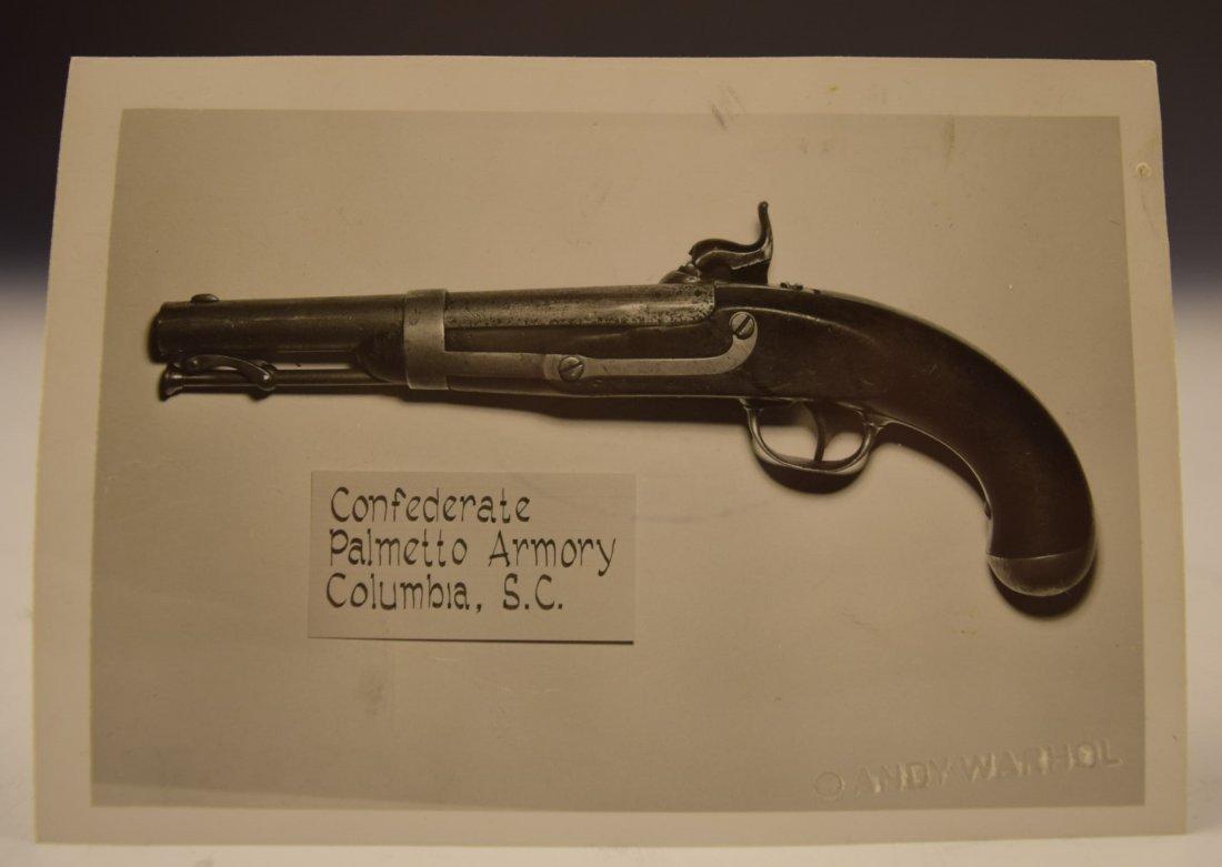 Andy Warhol Gun Photograph