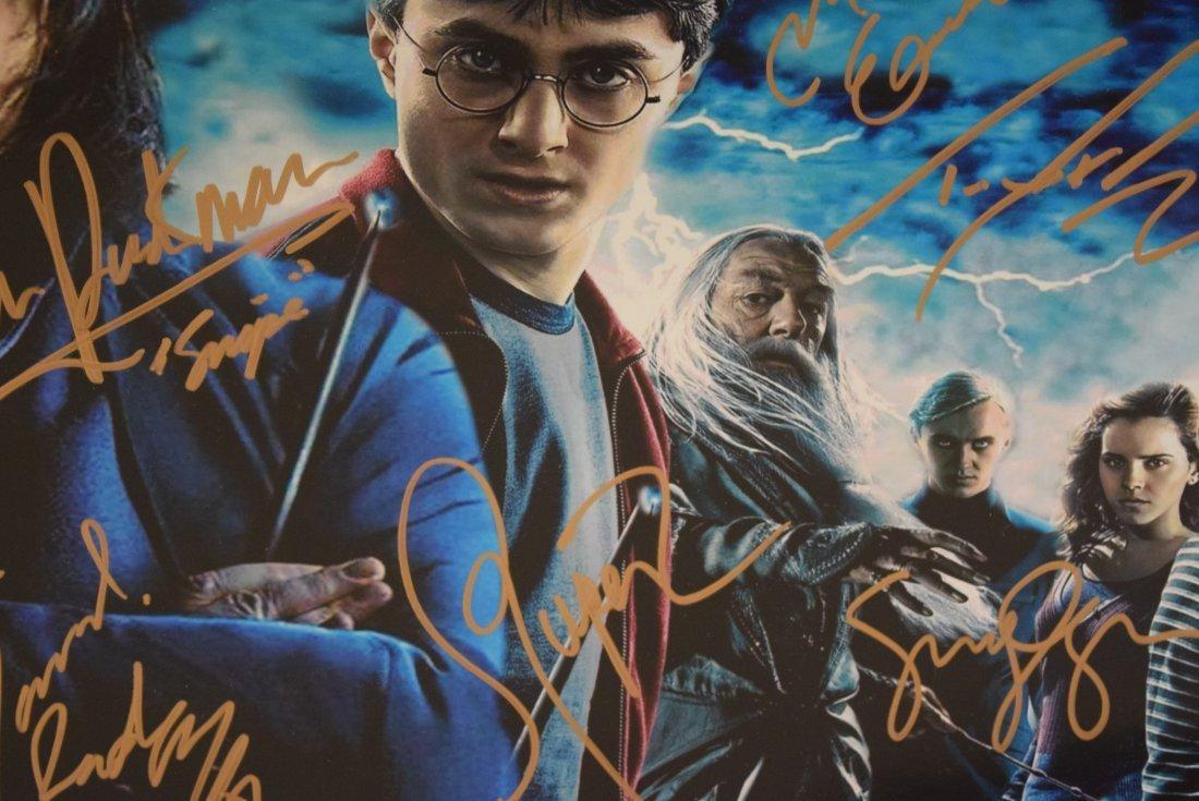 Harry Potter Cast Signed Movie Photograph - 2