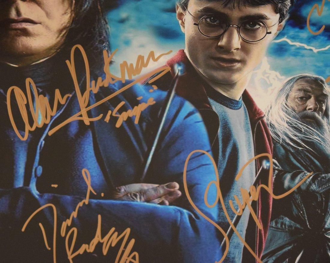 Harry Potter Cast Signed Movie Photograph - 3