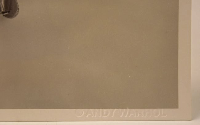 Andy Warhol Gun Photograph - 2