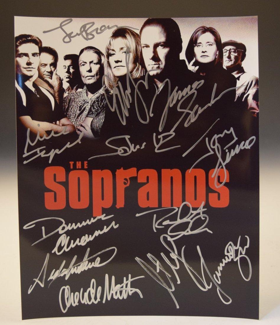 The Sopranos Signed Photo