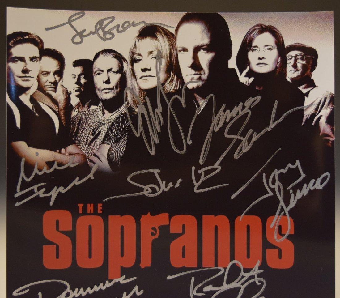 The Sopranos Signed Photo - 2
