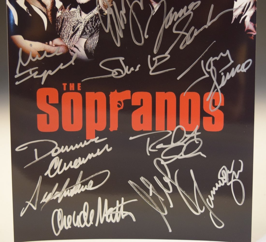The Sopranos Signed Photo - 3