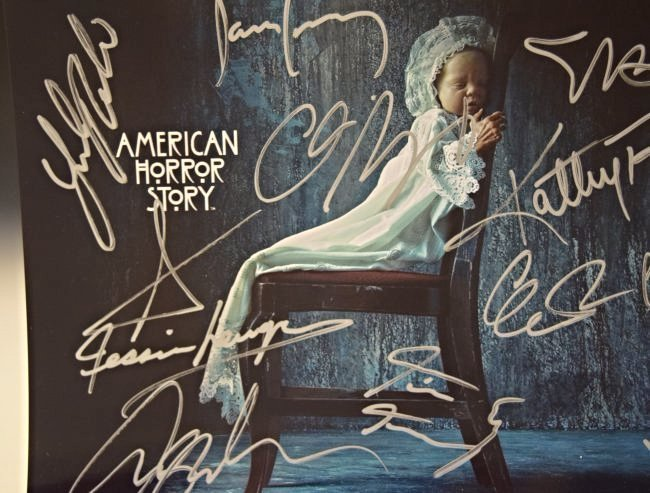 American Horror Story Signed Photo - 2
