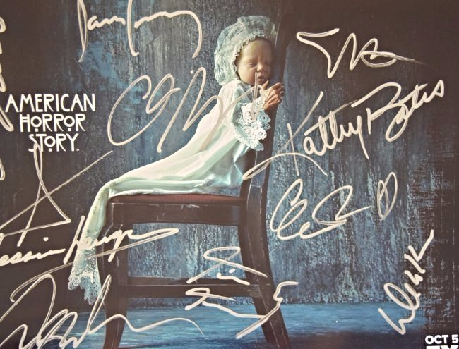 American Horror Story Signed Photo - 3