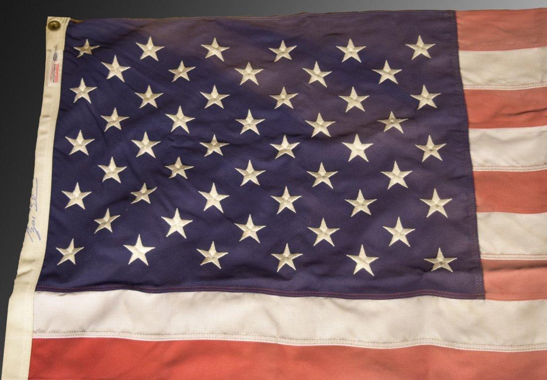 George W. Bush Signed Flag - 2