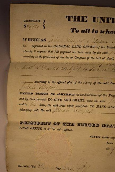 Andrew Jackson Signed Document - 3