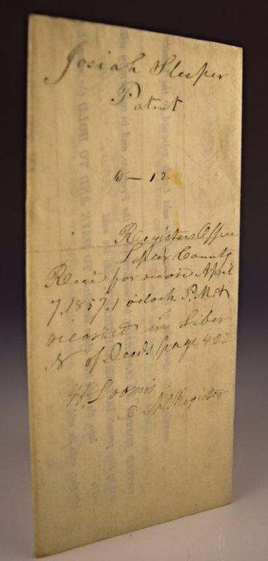 Andrew Jackson Signed Document - 4