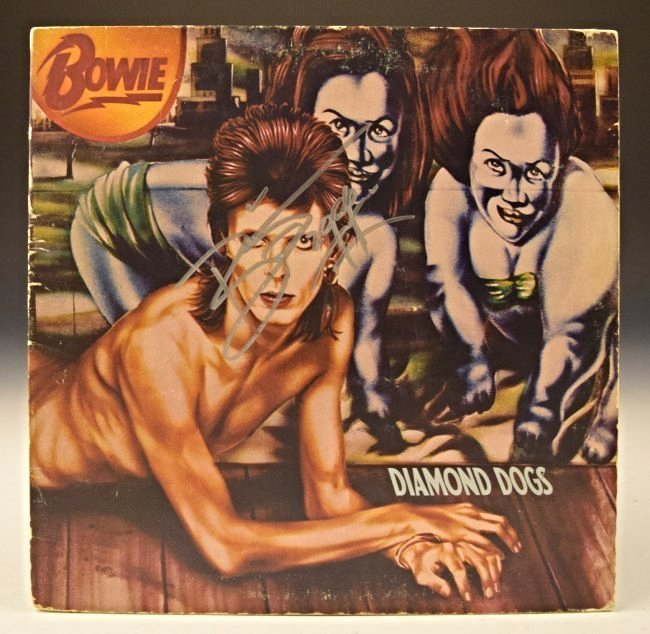 David Bowie Signed Album