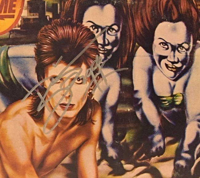 David Bowie Signed Album - 2