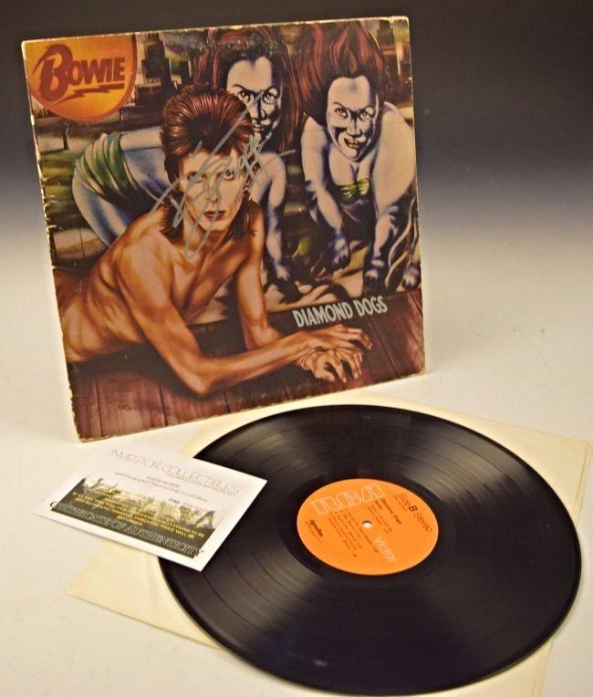 David Bowie Signed Album - 4