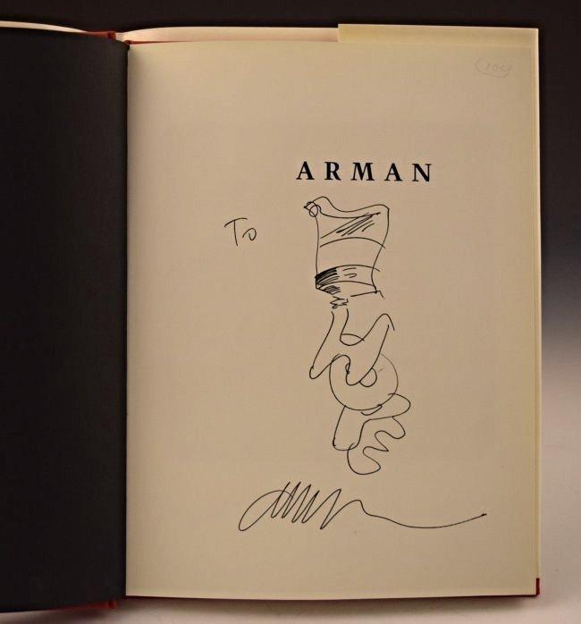 Fernandez Arman Drawing