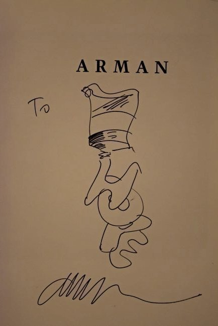 Fernandez Arman Drawing - 2