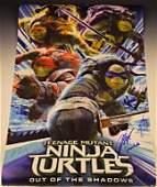 Teenage Mutant Ninja Turtles 2 Cast Signed Movie Poster