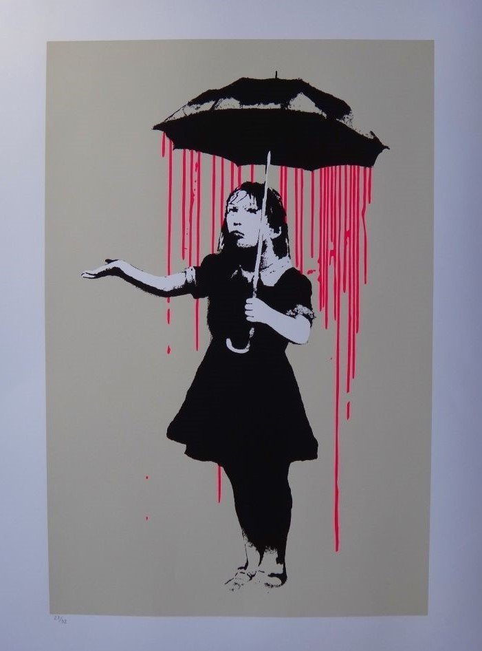Banksy Screenprint
