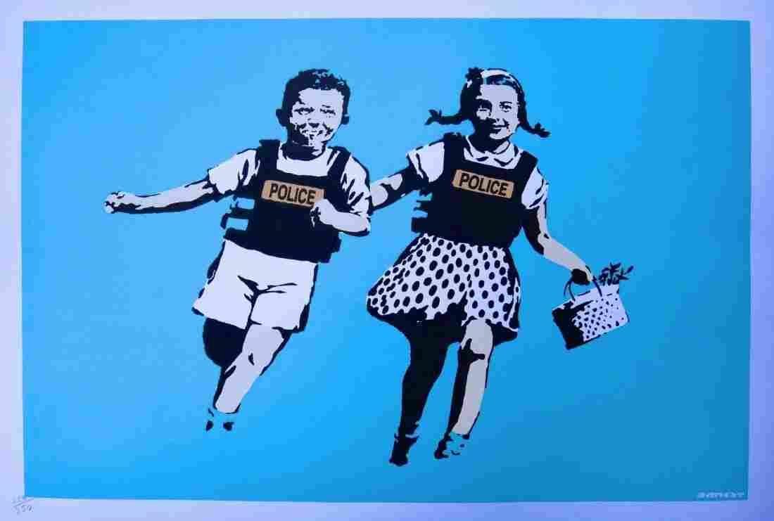 Banksy Screenprint