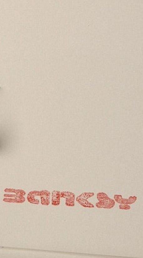 Banksy Screenprint - 3