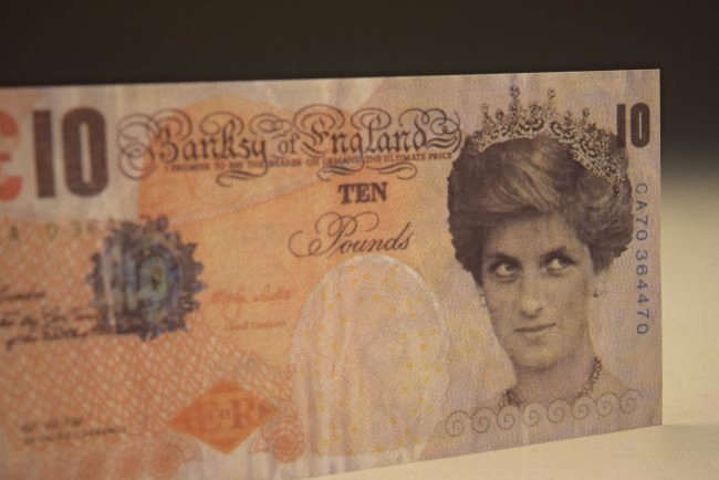 Banksy Di Faced Tenner 10 Pound Note - 2