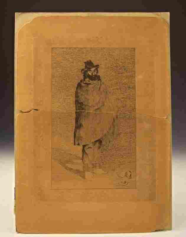 Edouard Manet 1865 Etching