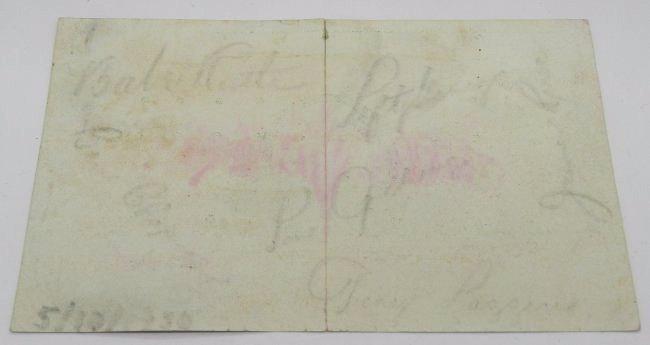 1930 Yankees Signed Postcard