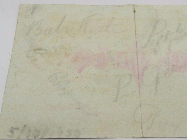 1930 Yankees Signed Postcard - 2