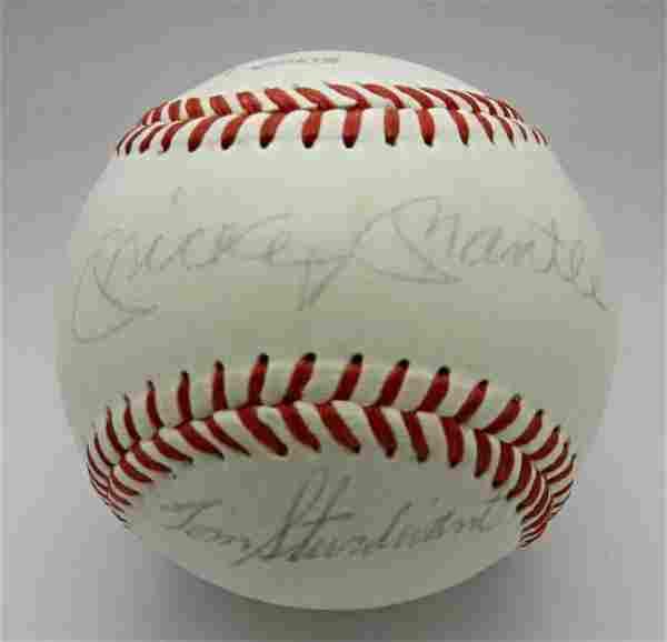 1960's New York Yankees Signed Baseball