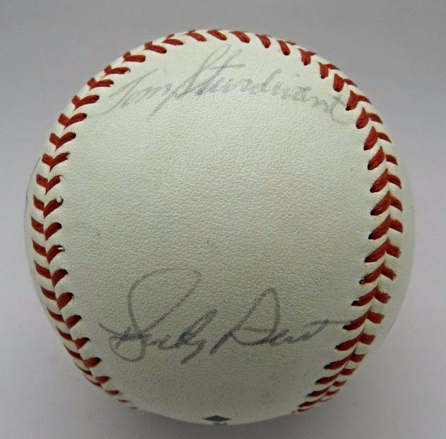 1960's New York Yankees Signed Baseball - 2