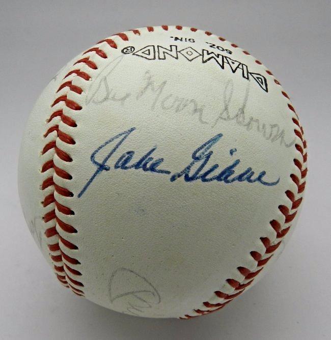 1960's New York Yankees Signed Baseball - 3