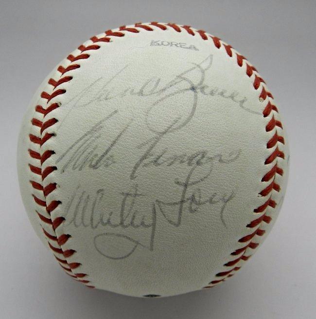 1960's New York Yankees Signed Baseball - 4