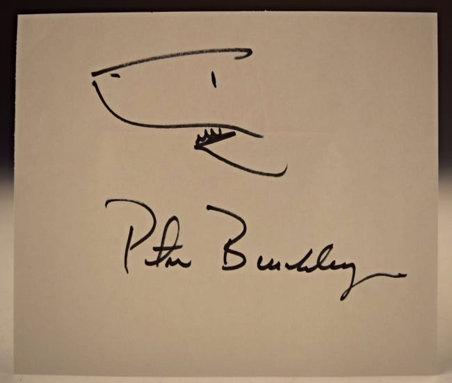 Peter Benchley Sketch