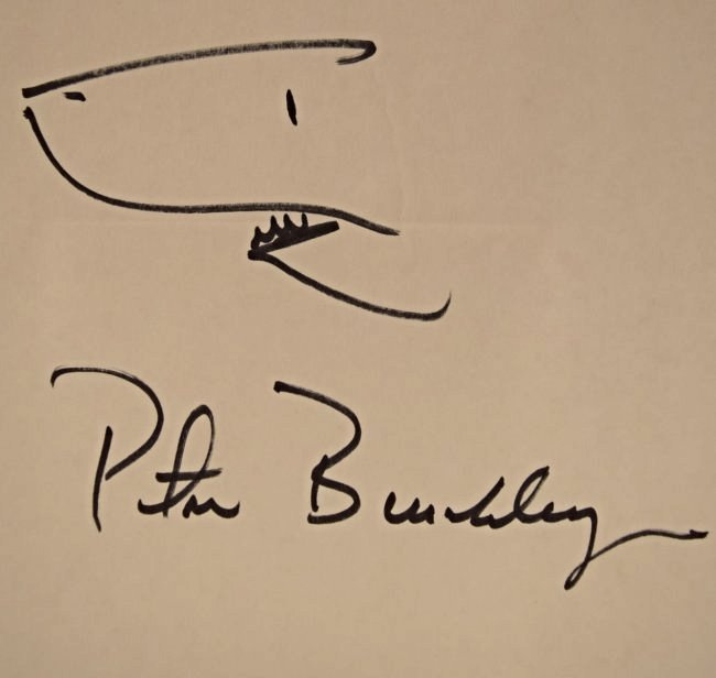 Peter Benchley Sketch - 2