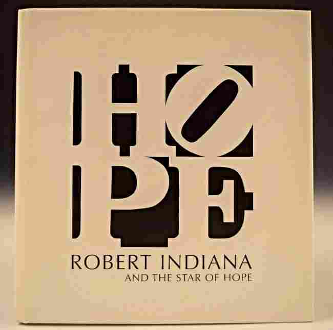 Robert Indiana HOPE Signed Book