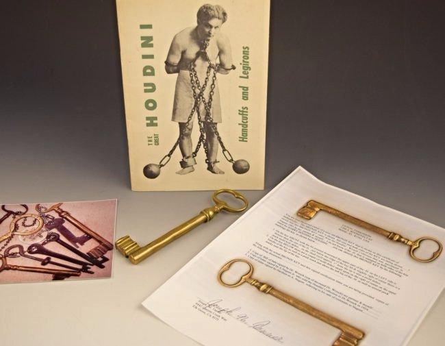 Harry Houdini Skeleton Key
