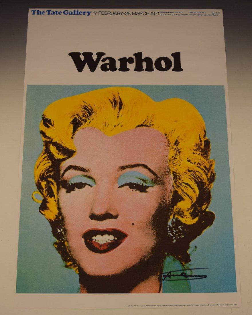 Andy Warhol Marilyn Monroe Signed