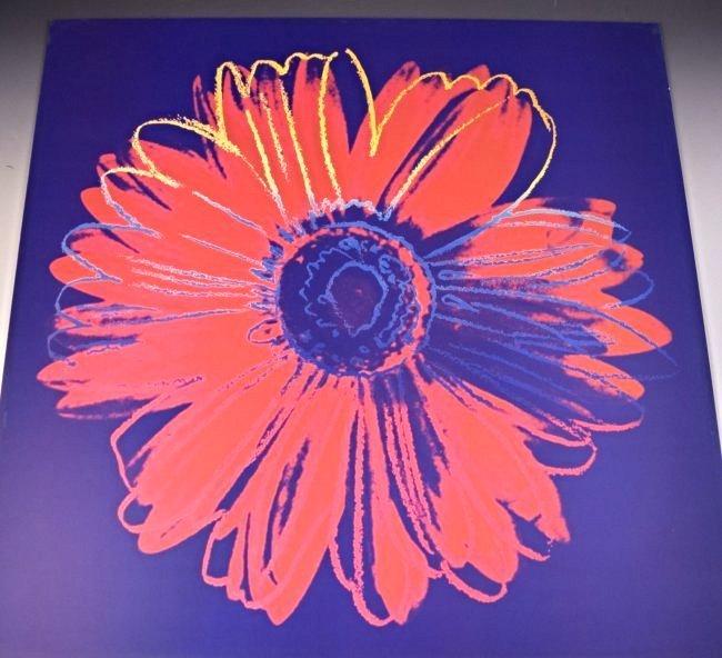 Andy Warhol Wynn Casino Floral Print