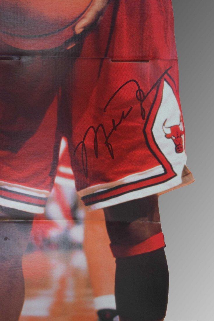Michael Jordan Signed Full Sized Cutout - 2