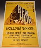 Ben Hur Original Movie Poster