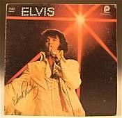 Elvis Presley Autograph LP