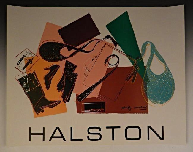 Andy Warhol Halston Serigraph