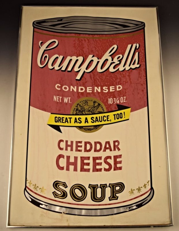 1969 Andy Warhol Campbell's Soup Signed Screenprint